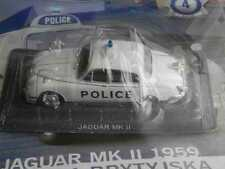 JAGUAR MK II CULT POLICE CARS COLLECTION DEAGOSTINI 1/43 IN COMPLETE ISSUE no. 4