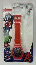 MARVEL AVENGERS SUPERHERO RED KID DIGITAL LCD WATCHES 100% ORIGINAL MUST L@@K
