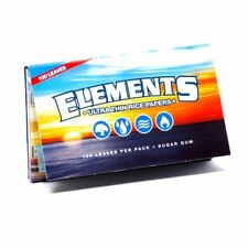 1 Pack Elements Ultra Thin Rice Single Wide Cigarette Paper 100 Leaves 8311