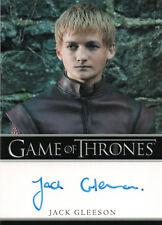 Game of Thrones Season One, Jack Gleeson 'Prince Joffrey' Autograph Card