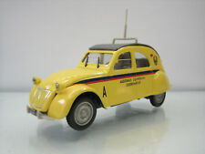 Diecast Norev Citroen 2CV AZLP 1/43 Yellow Very Good Condition