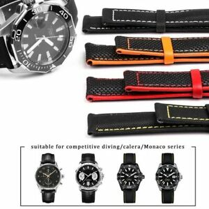 19 20 21 22mm Nylon Watchband Strap for Omega Seamaster, DeVille + Tools & Clasp