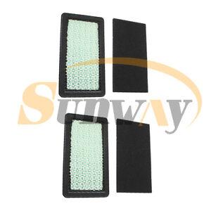 2 Air Filter For Honda GCV510 GCV520 GCV530 HF2315 HF2415 HF2417 HF2214 HF2216
