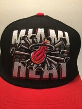 Miami Heat Snapback Hat Basketball NBA Mitchell & Ness