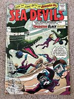 SEA DEVILS #25 OPERATION BLACK GOLD!  HIGHER GRADE SILVER AGE BEAUTY!!!