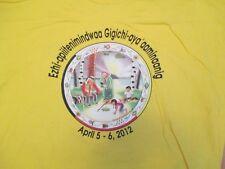 Native American Indian Ezhi Apiitenimindwaa 2012  T Shirt Size XL ?