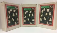 Christmas Around the World -- 3 Sets Of 10-Pc Figurine Strands of Lights W/Boxes