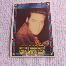 1978 Monty Gum - ELVIS PRESLEY - Club Card From Holland - (Blank Back) - Card 14