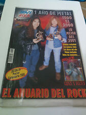 "REVISTA ""METAL HEAVY ROCK MAGAZINE ESPECIAL NUMERO 60"" ENMUY  BUEN ESTADO"