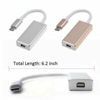 TYPE-C USB 3.1 to DP 4K HD Video Adapter Convert USB-C to Display Port NEW EN