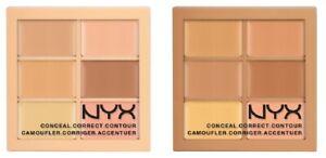 NYX Conceal Correct Contour Palette - Light 3CP01