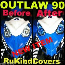 POLARIS PREDATOR 90 Outlaw HEADLIGHT COVERS REAPER EYES RUKINd COVERS