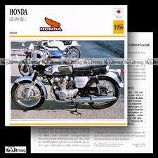 #059.13 HONDA CB 450 MK1 1966 Fiche Moto Motorcycle Card
