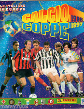 ALBUM FIGURINE=CALCIO COPPE 1996-1997=PANINI=CON 93 FIGURINE ATTACCATE SU 144