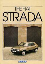 Fiat Strada II 1985-87 UK Market Brochure 60 70 CL 85 Super Abarth 130 TC Ritmo