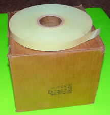 "NOS Case 10 Rolls 11/16"" Wide Teletype RTTY Reperforator Transmitter Tape Oiled"