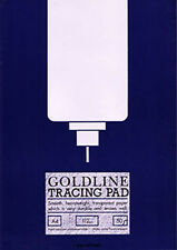 Goldline Heavyweight Tracing Paper Pad 112gsm 50 Sheets A4 GPT3A4