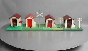 Lionel O Gauge Vintage Postwar Accessory Buildings - 45, 145, 125 (4)