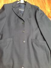 ROMEO GIGLI Herren Jacket Sakko  Gr. 50 52 blauschwarz 100 % Wolle neuwertig