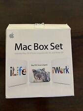 Apple Mac Box Set Includes Mac OS X Snow Leopard, iLife '09, iWork '09 MC209Z/A