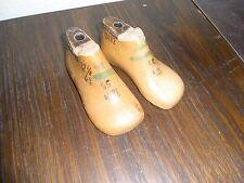 alte Kinder Schusterleisten / Schuhleisten 1 Paar 12,5cm lang 5 1/2 Mini