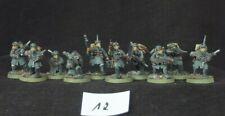 Astra Militarum, Steel Legion Squad, OOP, Warhammer 40k, PRO PAINTED