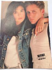 VTG 80s' PINUP Demi Moore Emilio Estevez + Jack Wagner WOW Teen Magazine 1 PAGE