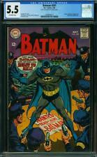 Batman 201 CGC 5.5 -- 1968 -- Irv Novick. Joker Catwoman Penguin #2039658012