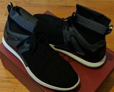 """$550 Mens Authentic Bally """"Avallo"""" Technical Running Sneakers Black US 10"""