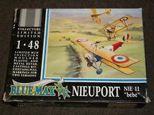 """Blue Max 1/48 Scale Nieuport Nie 11 """"Bebe"""""""