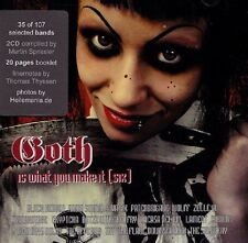 GOTH IS WHAT YOU MAKE IT 6 - 2CD (Black Heaven, Wynardtage, Amnistia,..)