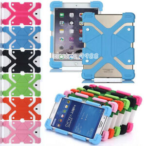 """Flexible Shockproof Soft Silicone Soft Case Cover For RCA 10"""" 10.1"""" 10.6"""" Tablet"""