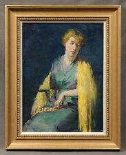 "Impressionistic Woman's Portrait ""Style of"" Robert Henri (AMERICAN, 1865-1929)"