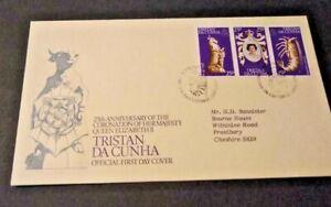 Tristan da Cunha 1978 25th Anniversary of the Coronation First Day Cover