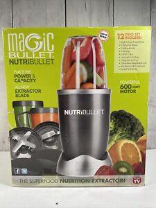 NutriBullet Magic Bullet 12-Piece 600 Watt Blender / Nutrition Extractor - NEW