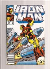 Iron Man #277 Vf+ 8.5 John Byrne Script Begins! 1992