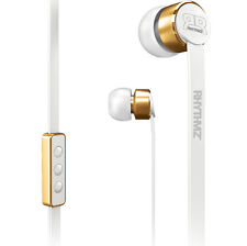 Rhythmz Headphones Earphones With Microphone and Volume Control in Ear