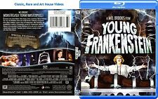 Young Frankenstein ~ New Blu-ray ~ Gene Wilder, Teri Garr (1974)