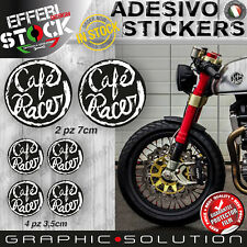 Adesivi Stickers Kit CAFE RACER HELMET GENTLEMANS RIDE TRIUMPH DUCATI BMW BOBBER
