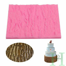 Silicone Tree Lace Bark Texture Fondant Mould Cake Decor Icing Paste Craft Mold