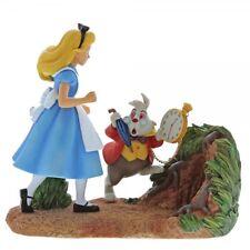 Disney Enchanting Mr Rabbit Wait! (Alice in Wonderland Scene Figurine)