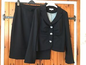 Next Taylored Skirt Suit Size 16