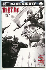 Dark Nights Metal 1 DC Francesco Mattina Prelim Sketch Variant Batman Joker