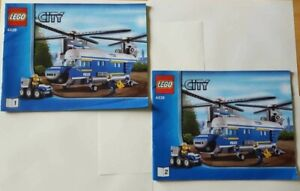 INSTRUCTION BOOKLET ONLY - 4439 LEGO City Heavy Duty Helicopter  Great Condition