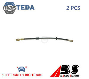 2x ABS FRONT BRAKE HOSE LINE PIPE SL 5598 P NEW OE REPLACEMENT