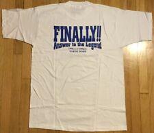 NOS Vintage ANTONIO INOKI shirt XL white Tokyo Dome New Japan pro wrestling NJPW