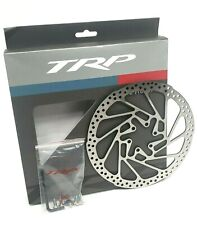 TRP R1 Mountain Bike Disc Brake Rotor 180mm, 6-Bolt, 2.3mm Thick, Silver
