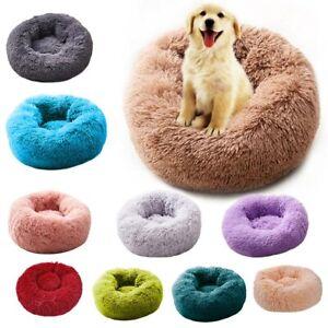 Nest-Basket Shape Dog / Cat Round Bed Washable Plush Sleep Cushion Pet Supplies
