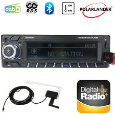 1 DIN DAB+ RDS Car Radio AM Car Stereo FM Audio Bluetooth USB AUX SD MP3 Player