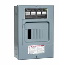 Schneider Electric QO6L100S Square D Sub Panel Loadcentre with 6 Spaces, 12 Circ